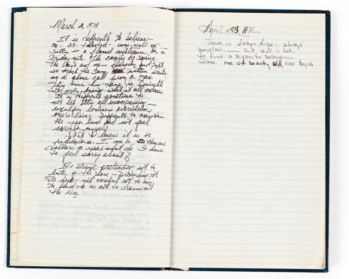 Oprah's 1979 Journal